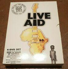 LIVE AID 13TH JULY 1985 4 DVD SET