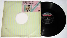"Philippines WHITNEY HOUSTON How Will I Know 12"" EP Record"
