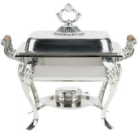 Catering Classic STAINLESS STEEL Chafer Chafing Dish 4 QT Buffet Half