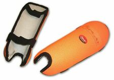 Hockey Shin Pads Orange Medium shinguards shinpads field protection pad legs leg
