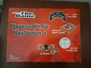 Sony Playstation 2 Player's Kit New Factory Sealed Accessories Target Ships Free