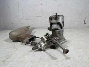 Vintage Enya 19-V 4005 Control Line R/C Model Airplane Engine