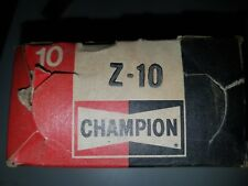 Champion Spark Plugs Z10 NOS Z-10 set of 10 Rare