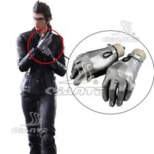Final Fantasy XV Ignis Scientia Gloves Cospaly Sliver Gloves Halloween New