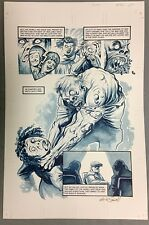THE GOON (2012) #41 PAGE 4 SIGNED AUTOGRAPHED ERIC POWELL FINISHED ORIGINAL ART Comic Art