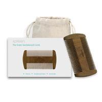 Xpreen Handmade Sandal Wooden Pocket Comb Beard Hair Mustache Natural Wood Comb