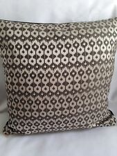 Cushion covers Made In Prestigeous Textiles Black And Silver With Plain  Reverse