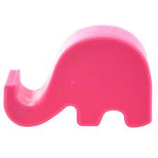 Rosa Rosso Basamento del supporto mini elefante del telefono delle cellule S5I2
