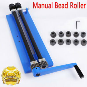 """18"""" Bead Roller Rotary Swaging Machine Swager Rotary Metal Sheet Rolling Tool UK"""