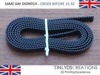 GT2 Timing Belt - Steel Wire Reinforced 6mm Wide - Hard Feel CNC Laser Cutter