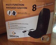 "Gideonâ""¢ Multi-Function Vibrating Massage Seat Cushion - 8 Massage Programs"