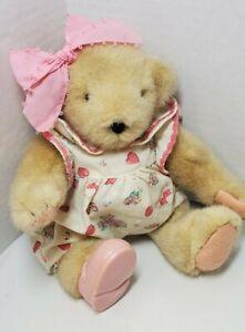Vintage MUFFY VANDERBEAR - VALENTINE Jointed Bear