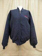 Correction Corporation of America Jacket Coat Red Cap Navy Blue Men's Size XL