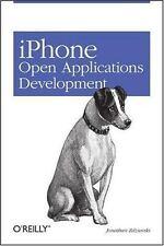 iPhone Open Application Development: Write Native Objective-