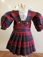 Exquisite 2 pc. Ensemble for Antique/Other Doll fits Bleuette