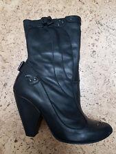 DIESEL Leder Schuhe Shoe Boots Stiefeletten Boot Stiefel Gr. 38