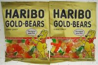 HARIBO Gold Gummi Bears fruit flavored chewy candy gummy a Lot of 2