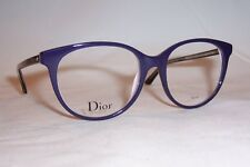NEW CHRISTIAN DIOR EYEGLASSES CD MONTAIGNE 16 NHI PURPLE PINK 53mm RX AUTHENTIC