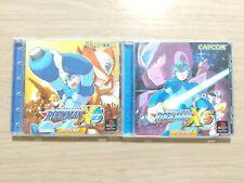 Rockman X5 X6 Mega Man Megaman Sony Playstation PS1 Game from Japan