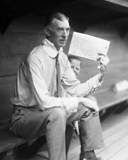 Philadelphia Athletics A's CONNIE MACK Glossy 8x10 Photo Print Dugout Poster