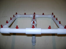 NEW Aeroponic Hydroponic 19 Sprayer Manifold Growing EZ Cloner Cloning System