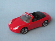 Matchbox Porsche 911 Carrera Cabriolet Red Body Boxed Toy Model Car