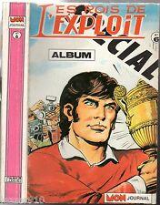 ALBUM SPECIAL LES ROIS DE L'EXPLOIT n°6 ¤ n°4-5-6 ¤ 1988 mon journal