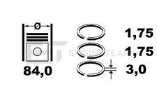 R1003500 Kolbenringsatz OPEL Astra Vectra SAAB CHEVROLET 2,0 DTI