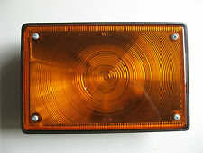 TAIL LIGHT - RED OR AMBER - 20X13CM - GLOBE TYPE - NEW IN BOX - AUTO ELEC SALE!