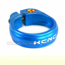KCNC SC9 Seat Post Clamp 7075 Alloy , 34.9mm , Blue