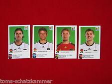 Panini WM 2010 Update Khedira, Müller, Kroos, Neuer Extra Sticker WC 10
