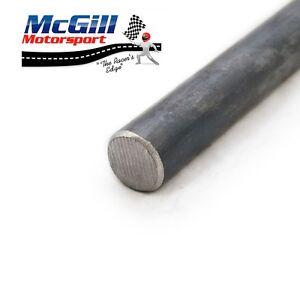 "Steering Column 3/4"" 19mm Bright Mild Steel Solid Round Bar Length 500mm - 900mm"