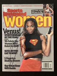 Venus Williams Signed Sports Illustrated 1/4/01 No Label Tennis Olympic Auto JSA