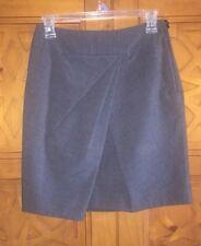 Versatile H&M Pencil Skirt, Charcoal Gray, Plaid Work Career Sz 6