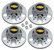 1977-1995 CHEVROLET 1500 SILVERADO SUBURBAN BLAZER Wheel Center Cap SET NEW