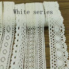 10 yards 10 series of garment sewing fabric Dyi cotton crochet lace ribbon