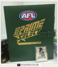 AFL TRADING CARD OFFICIAL ALBUM--2013 Select AFL Prime Trading Card Album