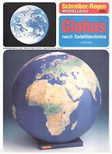 """Schreiber-Bogen 72443 """"Globus nach Satellitenfotos"""", neu + OVP"""