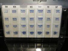 Pill Minder. Weekly.white