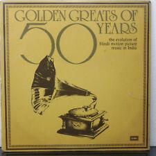 Golden Greats Of 50 Years  1931 - 1981 Hindi 2 LP Record Set Bollywood Indian