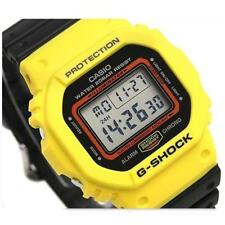CASIO G-Shock, DW5600TB-1 DW-5600TB-1, YELLOW x BLACK, DIGITAL, UNISEX