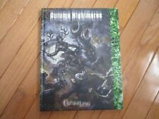 Changeling The Lost Autumn Nightmares HC NM