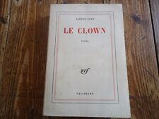 RARE  - LE CLOWN ALFRED KERN EO & ENVOI 1957 CIRQUE AMOUR PROFANE POESIE