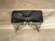 Vintage Ray Ban Aviators  FRAME B&L 1/10 12K Bausch&Lomb USA 52mm Leather Case