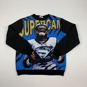 SUPERCAM King Sweatshirt Cam Newton Carolina Panthers Size L