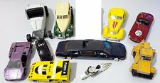 Various DIECAST MODEL CARS Mixed Lot Bundle of 10 - Sold As Is & As Pictured