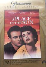 Drama A Place In The Sun Elizabeth Taylor Montgomery Clift Region 4 DVD VGC