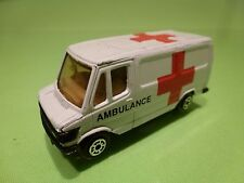 EDOCAR MERCEDES BENZ 307D - AMBULANCE - WHITE - GOOD CONDITION