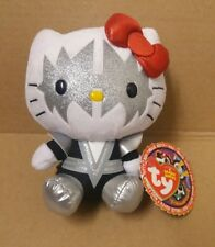 SPACEMAN - TY HELLO KITTY KISS BEANIE BABY  Ace Frehley