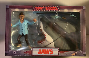 """Neca Toony Terrors JAWS & QUINT 6"""" Action Figure 2-Pack Boxed Set Brand NEW"""